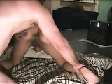 Dark Skinned Girlfriend Gets Her Asshole Fucked