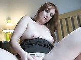 Ass Anal XXX Video Redhead Wife Rides Cock in Butthole