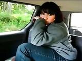 Anal XXX Video Girl Fist Herself Her Ass in Car