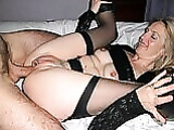 Milf Anal Pictures Sexy Blonde Wife Stretches Ass for Sex