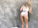 Outdoor anal fucking with superb blonde girl